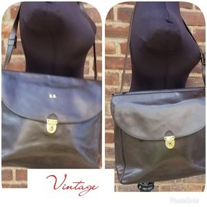 Vintage Leather carry all